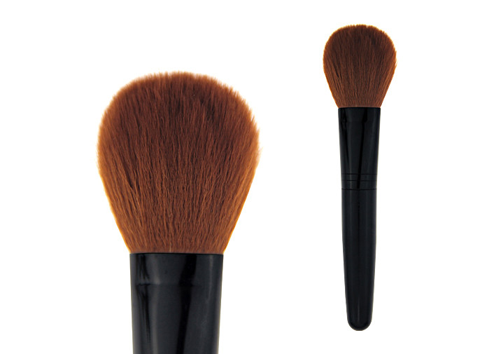 Professional Stippling Foundation Brush Contouring Plastic Handle Synthetic Hair