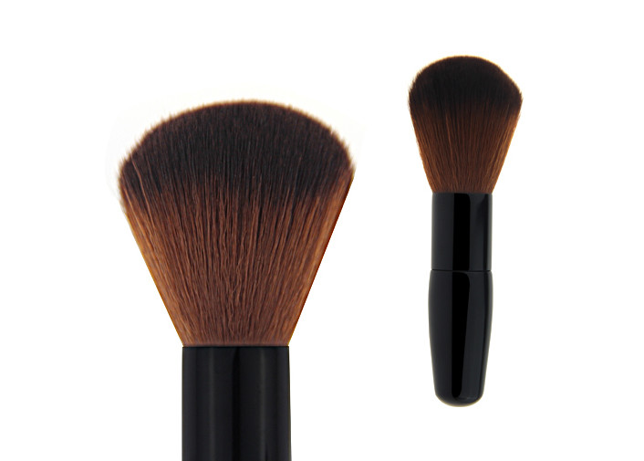 Cosmetics Angled Makeup t Foundation Makeup Brush With Black Handle