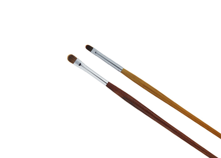 Long Handle Bronzer Makeup Brush For Eye Concealer , Eco Friendly