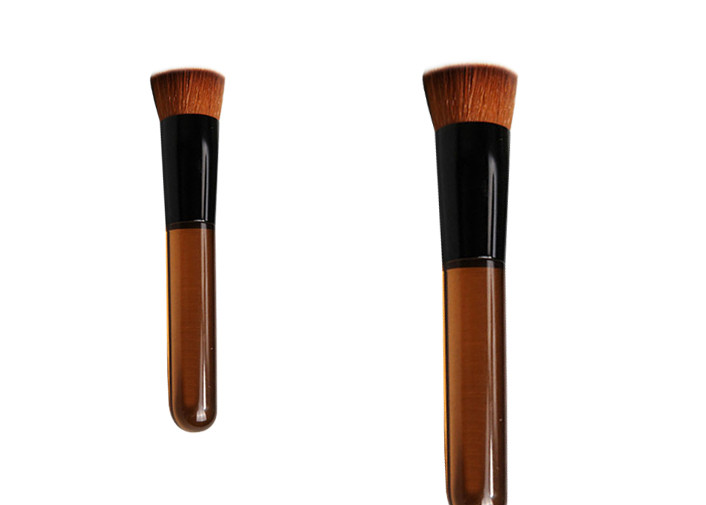 Travel Synthetic Flat Top Buffer Makeup Brush Beauty Cosmetics Brush Set